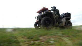 Квадроцикл RM 800. Обновленная модель, но не DUO. Катаемся по лесу на РМ 800
