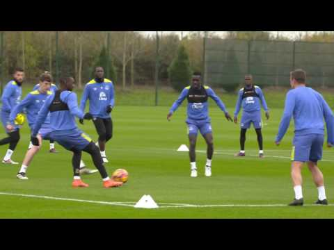 Toffees Train Ahead Of Chelsea