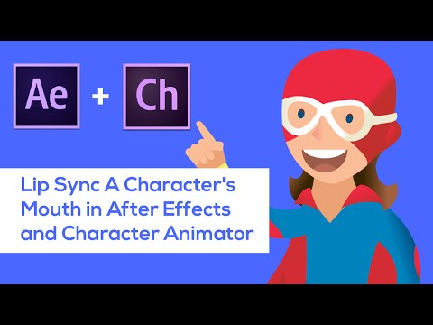 Lip Sync A Characters Mouth in After Effects and Character Animator