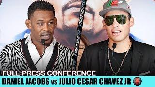 DANIEL JACOBS VS. JULIO CESAR CHAVEZ JR - FULL KICKOFF PRESS CONFERENCE - JACOBS VS. CHAVEZ JR