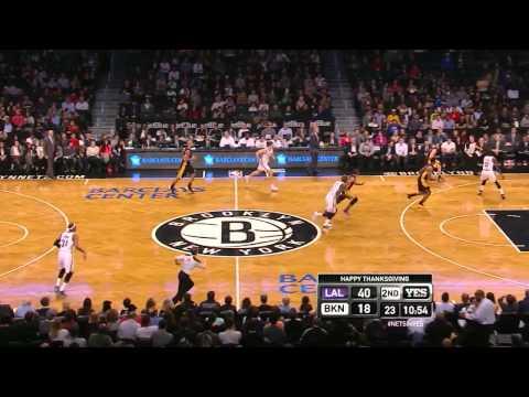 Jordan Farmar: 6 points in 10 seconds - Lakers @ Nets - 2013.11.27