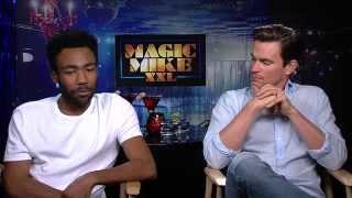 Magic Mike Interview - Matt Bomer & Donald Glover