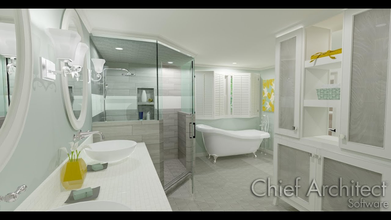 chief architect x7 bathroom webinar - youtube