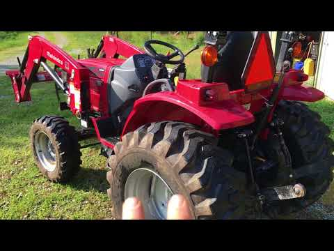 Mahindra 1526 HST Power Loss --- Resolved - YouTube