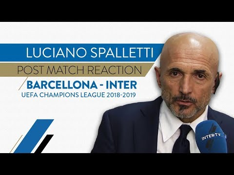 "BARCELONA 2-0 INTER | Spalletti: ""We didn't do as much as we can"" 