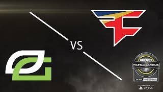 OpTic Gaming vs. FaZe Clan - CWL Global Pro League Stage 1 Playoffs - Day 1