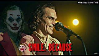 Joker attitude whatsapp status  | joker laugh status | joker movie | joker mood off | joker quote