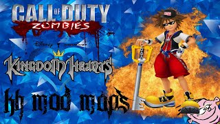 COD WAW - Kingdom Hearts Map and un-dead heartless