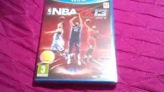 Unboxing NBA 2K13 (Wii U)