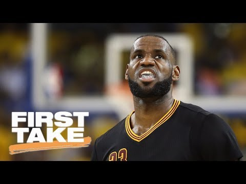 Stephen A. Smith says LeBron James is now under more pressure to win | First Take | ESPN