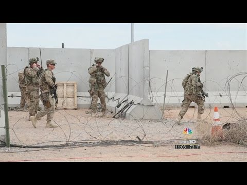 Exclusive look inside the Virginia National Guard training