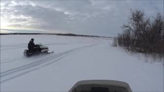 Vintage Snowmobiling 2016