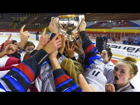 Canada Vs. USA (Gold) - 2020 IIHF Ice Hockey U18 Women's World Championship