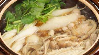 Kiritanpo Nabe Recipe (Hot Pot Dish in Akita Prefecture) きりたんぽ鍋の作り方 秋田県の郷土料理レシピ