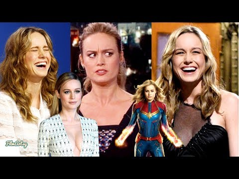 Captain Marvel | Brie Larson Funniest Moments | Try Not To Laugh