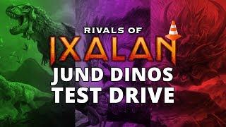 Jund Dinosaurs Rivals of Ixalan Standard Test Drive MTGO Stream