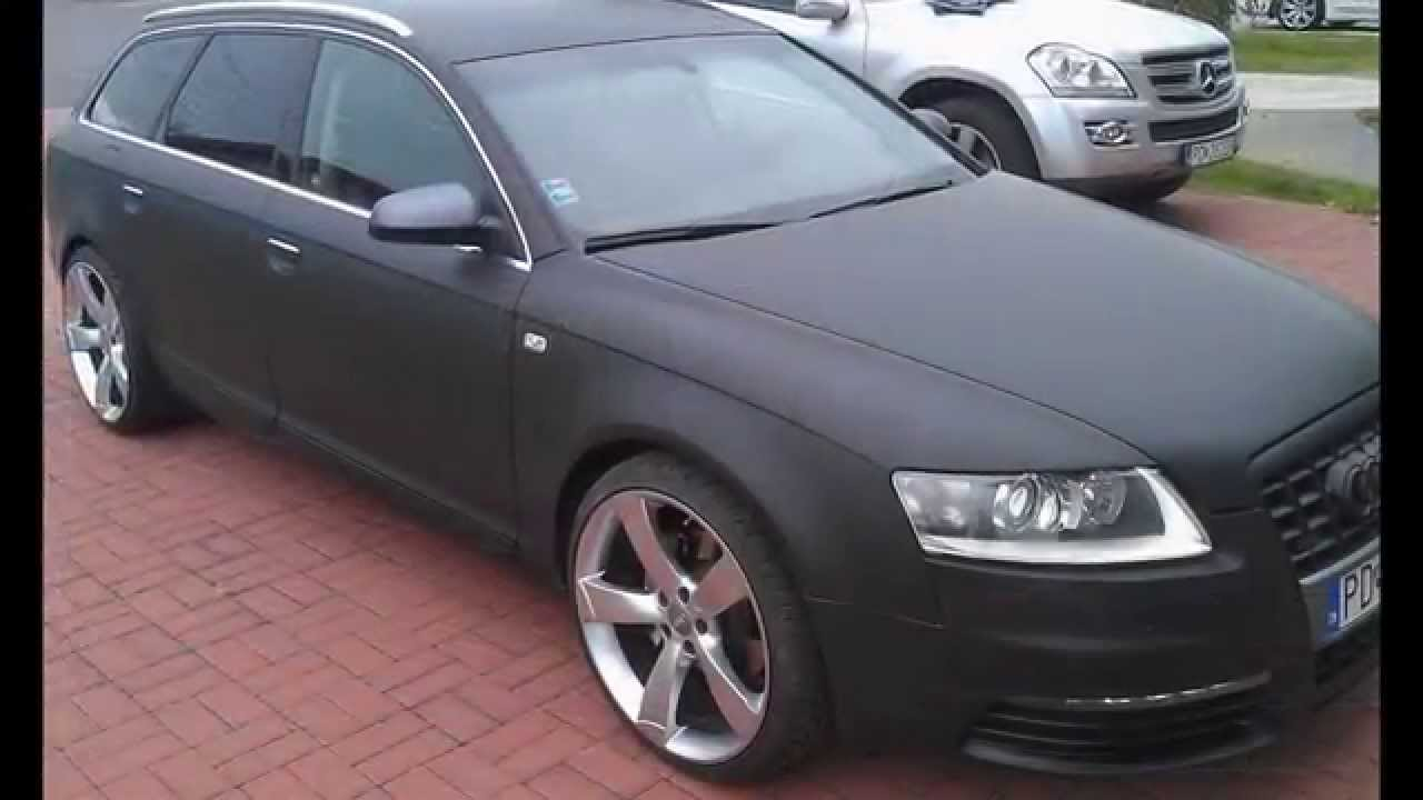 Audi A6 Quatro 3m 1080 Series Full Wrap Matte Black