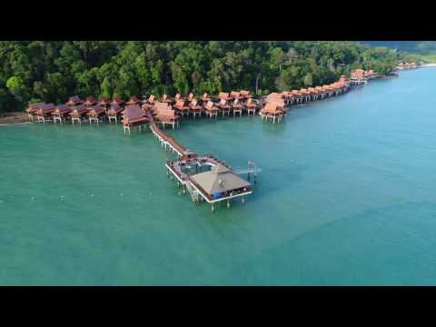 Langkawi Resort - Aerial recording with DJI Phantom 4 Pro