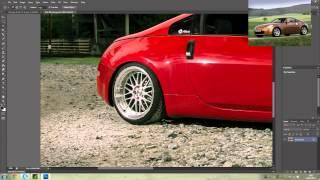Photoshop - Modifying Cars - Nissan 350z