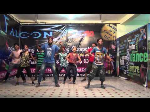 practice time.....! aa ee oo mera dil na todo (Choreography By Rahul)