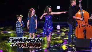 "The Willis Clan: Family Band Charms With ""Fireflies"" Cover - America's Got Talent 2014"