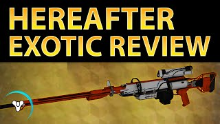 Destiny Taken King: Hereafter Sniper Rifle Exotic Review