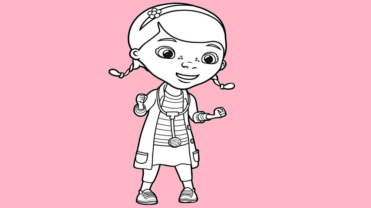 Doc Mcstuffins New Video Drawing How To Draw Doc