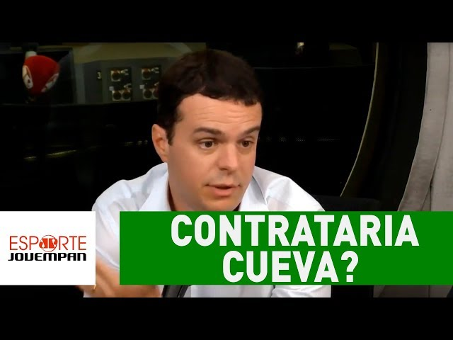 Candidato à PRESIDÊNCIA do Corinthians comenta se contrataria CUEVA