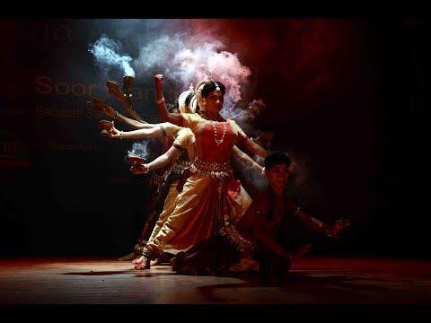 Odissi Dance | MAA Durga Roopa By Nrutya Naibedya | Raja Mahotsav 2018 by Soor Mandir