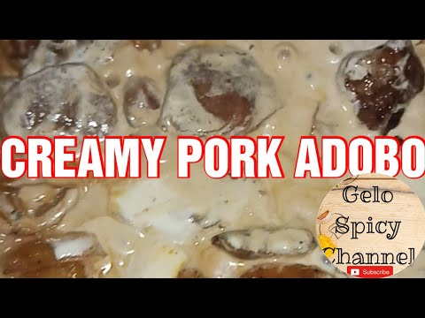 Creamy Pork Adobo