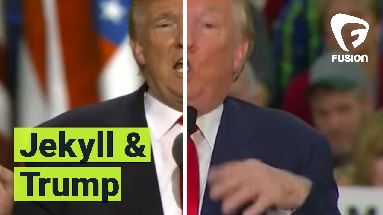 Have you ever noticed there are two different donald trumps online have you ever noticed there are two different donald trumps online youtube ccuart Gallery