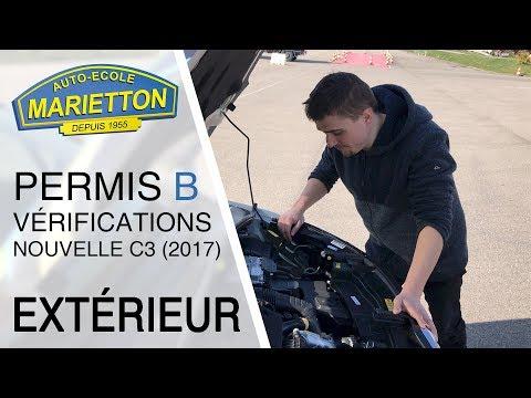 ⚠️ LIRE LA DESCRIPTION AVANT : Vérifications extérieures Citroën C3 2017