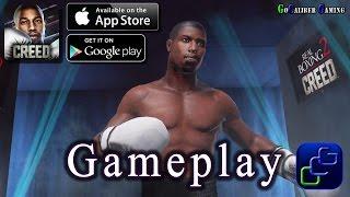 Real Boxing 2 CREED Android iOS Walkthrough - Gameplay Part 1 - Tutorial, Jump Rope, Creed Story