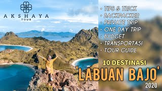 LABUAN BAJO 2020 l Tips & Trick l Backpacker l Budgeting