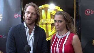 Point Break: Luke Bracey and Teresa Palmer Exclusive CinemaCon Interview (2015)