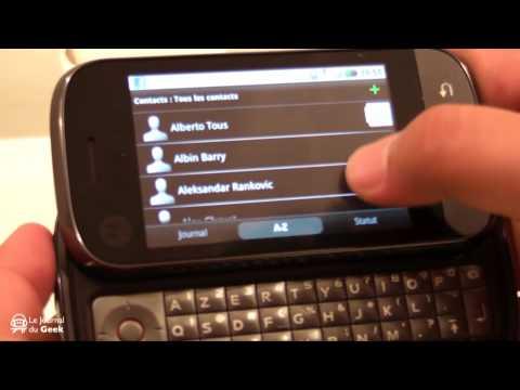Preview Motorola DEXT (CliQ)