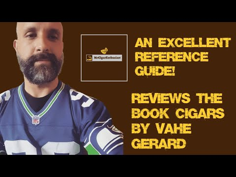 """MrCigarEnthusiast Reviews The Book """"Cigars"""" By Vahe Gerard"""