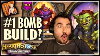 #1 BOMB BUILD EVER?! - Hearthstone Battlegrounds