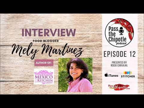 Interview with: Mely Martinez author of the blog Mexico in my Kitchen. Ep.12