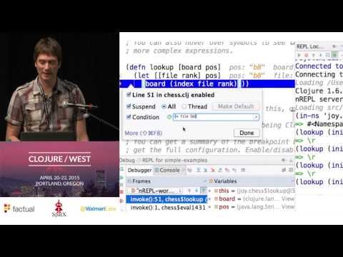 Debugging Clojure Code Wtih Cursive