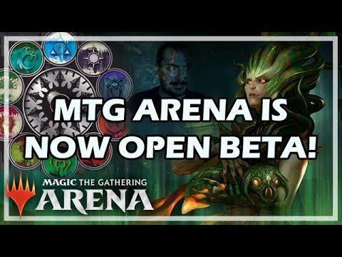 MTG ARENA IS NOW OPEN BETA!