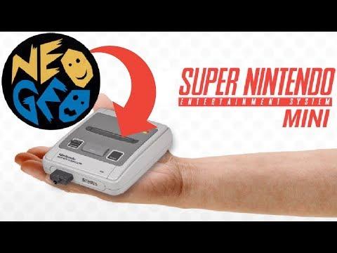 Comment ajouter des jeux NEO GEO dans la Mini Super nintendo : le tuto