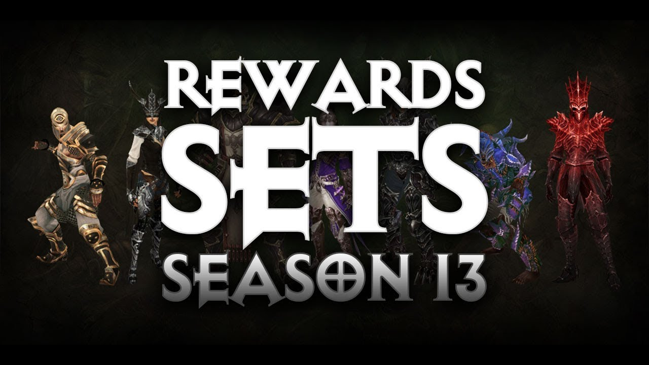 Diablo 3 - START DATE AND ALL THE SET AND QUEST REWARDS FOR SEASON 13 -  PWilhelm