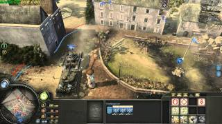 [company of heroes opposing fronts] - OMG - mission 6 - part 1 Arnhem The Last Bridge