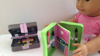 BRICOLAGE AG Poupée American Girl Crayon Cas