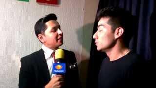 Entrevista Televisa Espectáculos a Ricardo Caballero en Nuestra Belleza Jalisco