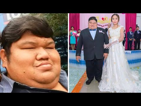 Толстяк, над которым все смеялись, женился на девушке своей мечты!