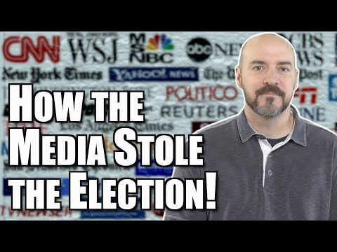 How the Media Stole the Election!