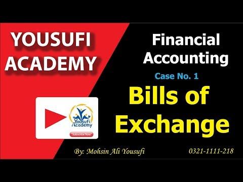 Bills of Exchange Case # 1