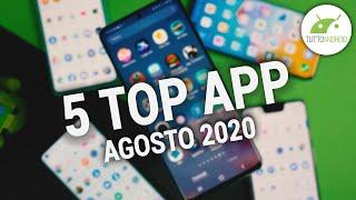 Le 5 Migliori APP (gratis) più recenti da provare su ANDROID - Agosto 2020
